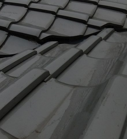 屋根からの雨漏り